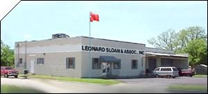 leonard sloan associates screenprinting hq